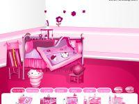 Hello Kittys Zimmer einrichten