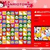 Hello Kitty 3 in einer Reihe